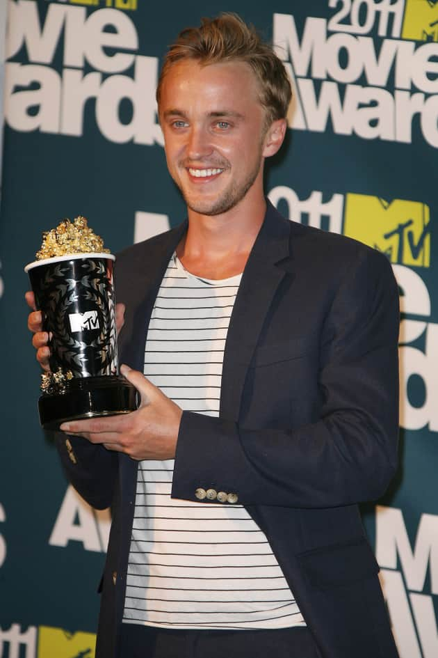 Tom Felton Wins!