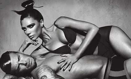 Victoria & David Beckham in Armani Underwear Ads
