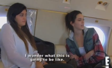 Keeping Up with the Kardashians Klip: The Plane Truth?