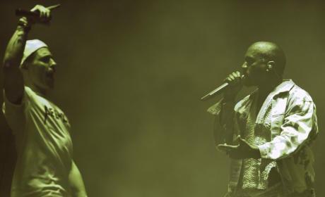 Kanye West Interrupted on Stage by Concert Crasher