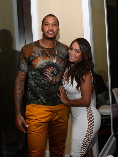 Carmelo Anthony and La La