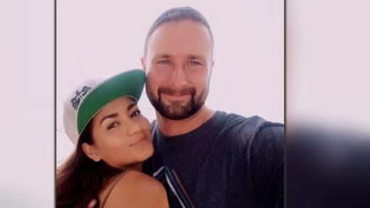 Selfie de retour de Corey Rathgeber avec Jenny au Pérou