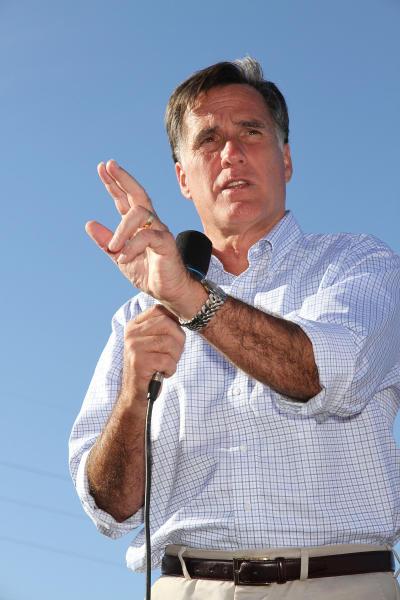 Mitt Romney Campaigns