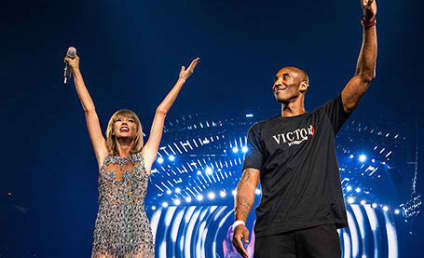 """Taylor Swift Receives """"Amazing Surprise"""" from Kobe Bryant"""