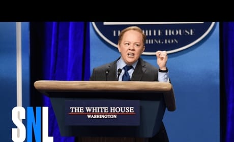 Melissa McCarthy Delivers Perfect Sean Spicer Impression on SNL