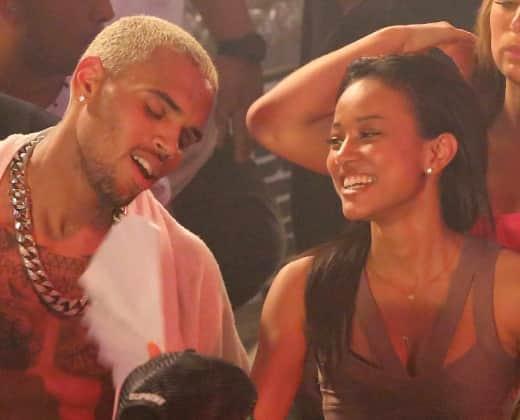 Karrueche Tran, Chris Brown Photo