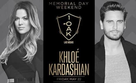Scott Disick, Khloe Kardashian Birthday Flyer