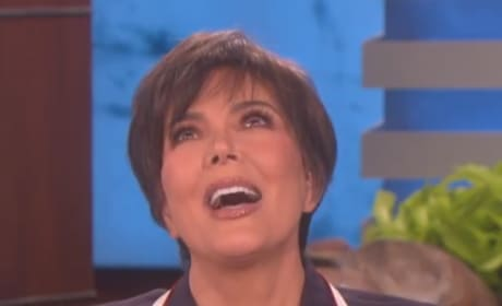 Kris Jenner Gets Choked Up