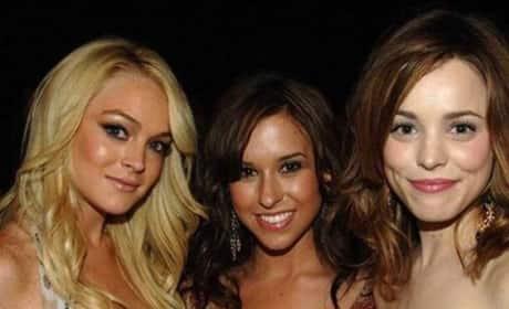 Lindsay Lohan, Lacey Chabert, Rachel McAdams Photo