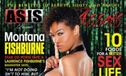 Montana Fishburne As Is: Torment of Laurence Continues With Racy Magazine Cover