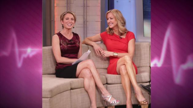 Amy robach slams lara spencer as shameless flirt gma feud for Who is lara spencer in a relationship with