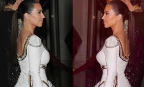 Kim Kardashian Photoshopped Pics