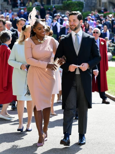 Serena Williams and Alexis Ohanian!