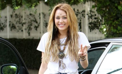 Miley Cyrus Makes Like an Indian Cowgirl