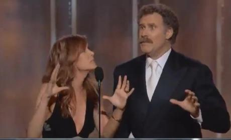 Will Ferrell and Kristen Wiig Present