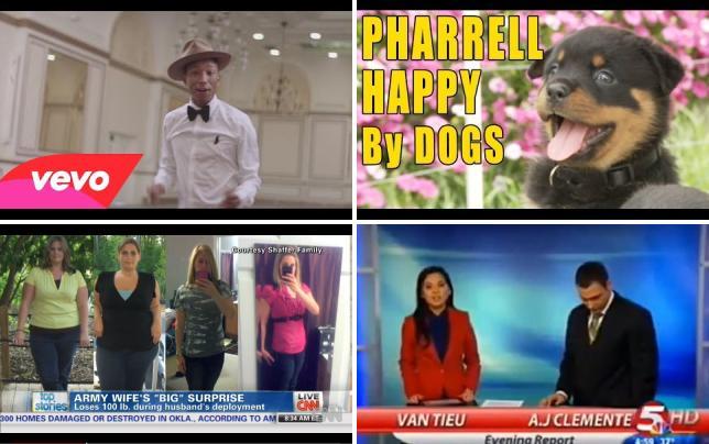 Pharrell williams happy video