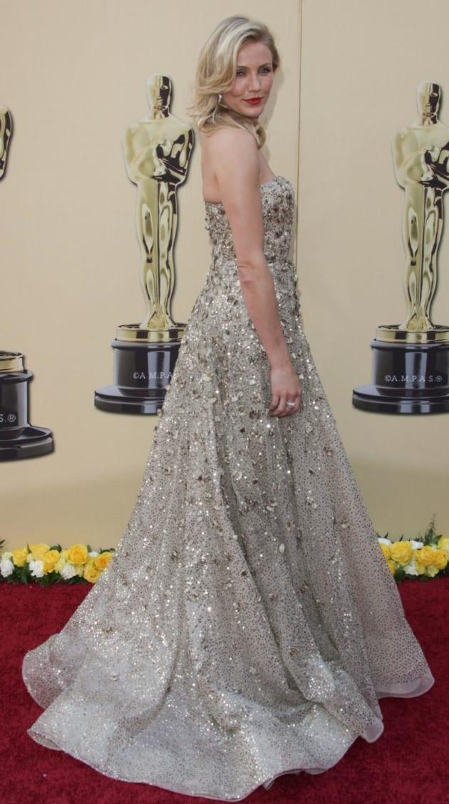Cameron Diaz Oscar Gown The Hollywood Gossip