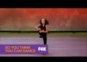 So You Think You Can Dance Contestant Vomits on Paula Abdul