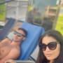 Loren and alexei brovarnik get some sun