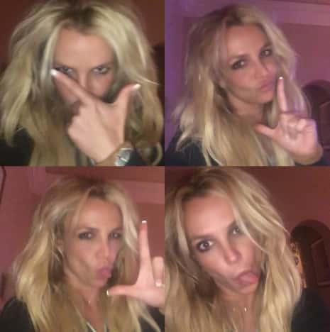 Britney Selfies