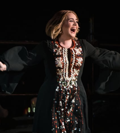 Adele is so Happy!