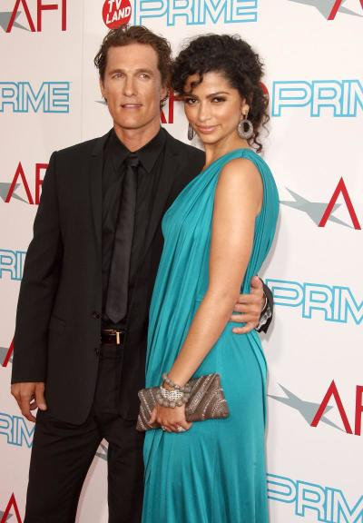 Matthew McConaughey and Camila Alves Picture