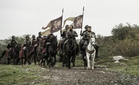Flying the Lannister Flag