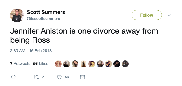 One divorce away