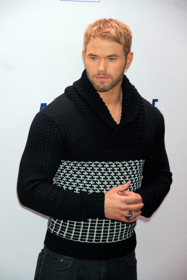 Kellan Lutz in a Sweater