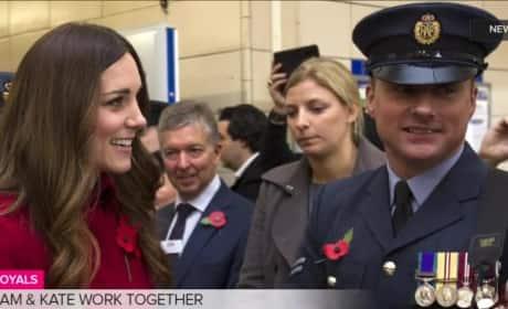 Kate Middleton Rides the Bus, Tube