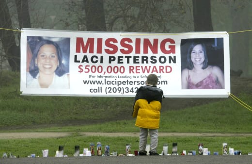 Laci Peterson Missing Poster