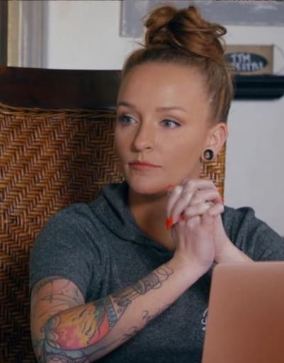Maci Bookout on the MTV