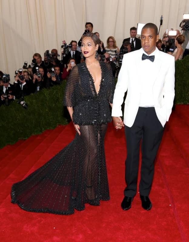 Beyonce and Jay Z at MET Gala