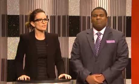 Tina Fey SNL Clip - New Cast Member or Arcade Fire?