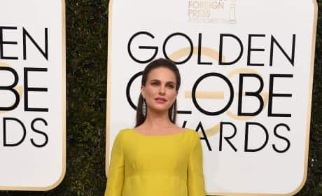 Natalie Portman at the Globes