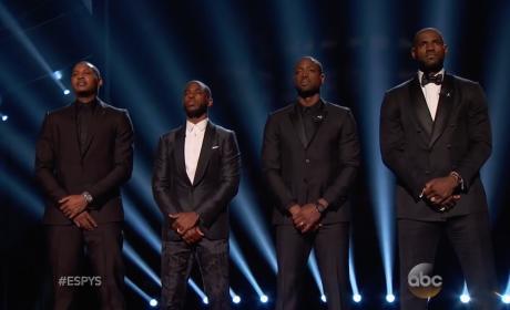 ESPYs: NBA Stars Speak on Black Lives Matter to Open Ceremony
