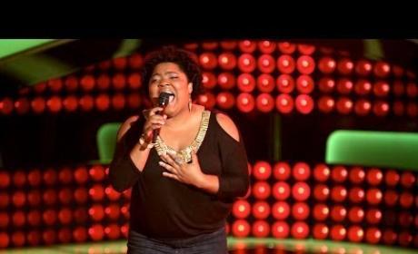 Cierra Mickens: 'Crazy' (The Voice Audition)