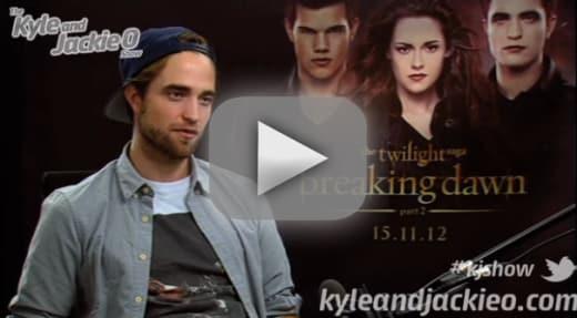 Robert Pattinson Talks About Sex