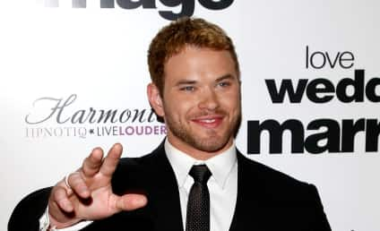 Kellan Lutz Passes on Making Out With Britney Spears