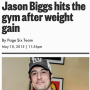 Jason Biggs Weight Gain Pic
