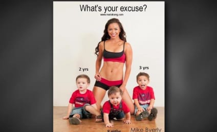 """Maria Kang on """"Fit Mom"""" Photo: I Aim to Inspire!"""