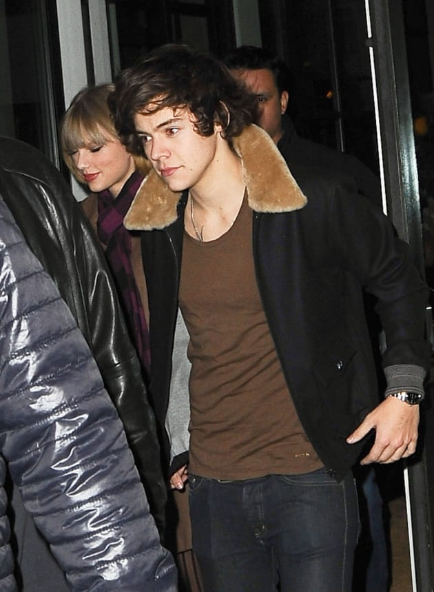 Taylor Swift And Harry Styles Spotted Leaving Crosby Hotel The Hollywood G