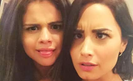 Selena Gomez and Demi Lovato: The Silly-Faced Reunion!