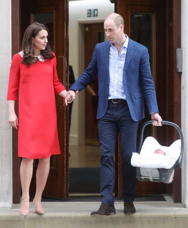 Prince Louis: What's Behind William And Kate Middleton's
