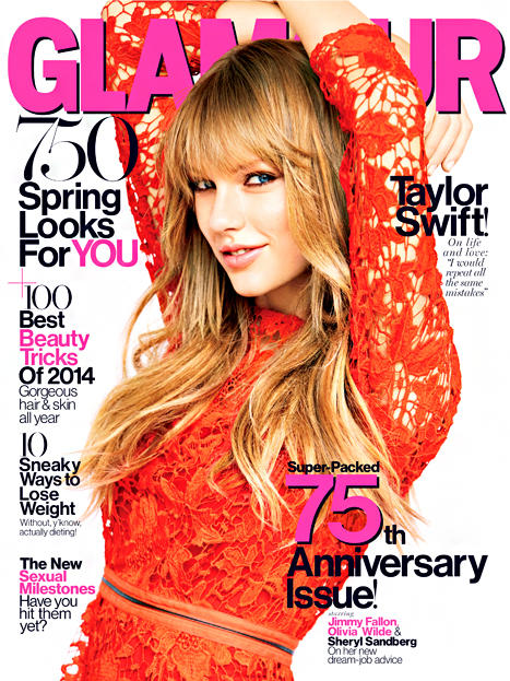 Taylor Swift Glamour Cover Pic