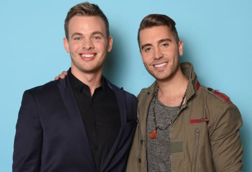 Clark Beckham and Nick Fradiani