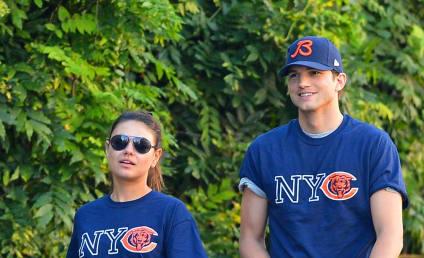 Mila Kunis and Ashton Kutcher Love the Bears, Each Other