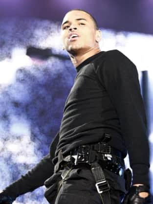 Angry Chris Brown