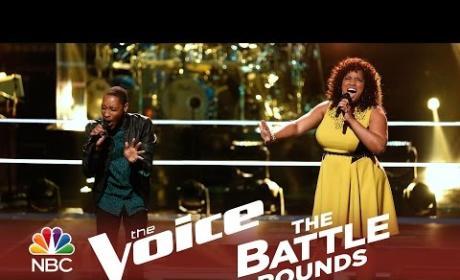 Elyjuh Rene vs. Maiya Sykes (The Voice Battle Round)