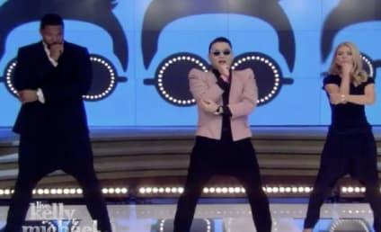"PSY, Kelly Ripa Do ""Gentleman"" Dance on Live!"